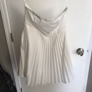 H&M Dresses - White tube flowy dress